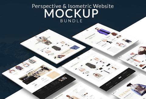 Business Mockups: 17 Exquisite Website-Mockup-Bundle