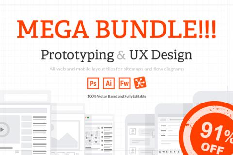 Business Mockups: Mega Bundle Of Prototyping & UX Design